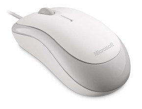 Microsoft Basic Optical Mouse-white