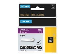Rhino 24 Mm Vinyl - White On Purple In