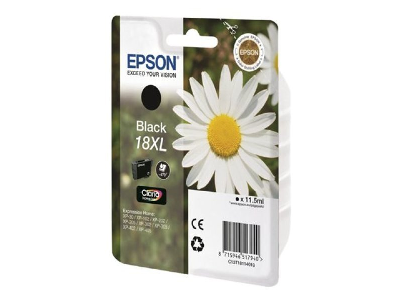 Epson 18XL Black Ink Cartridge