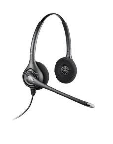 Plantronics SupraPlus H261H Binaural Headset - Hearing Aid Supported