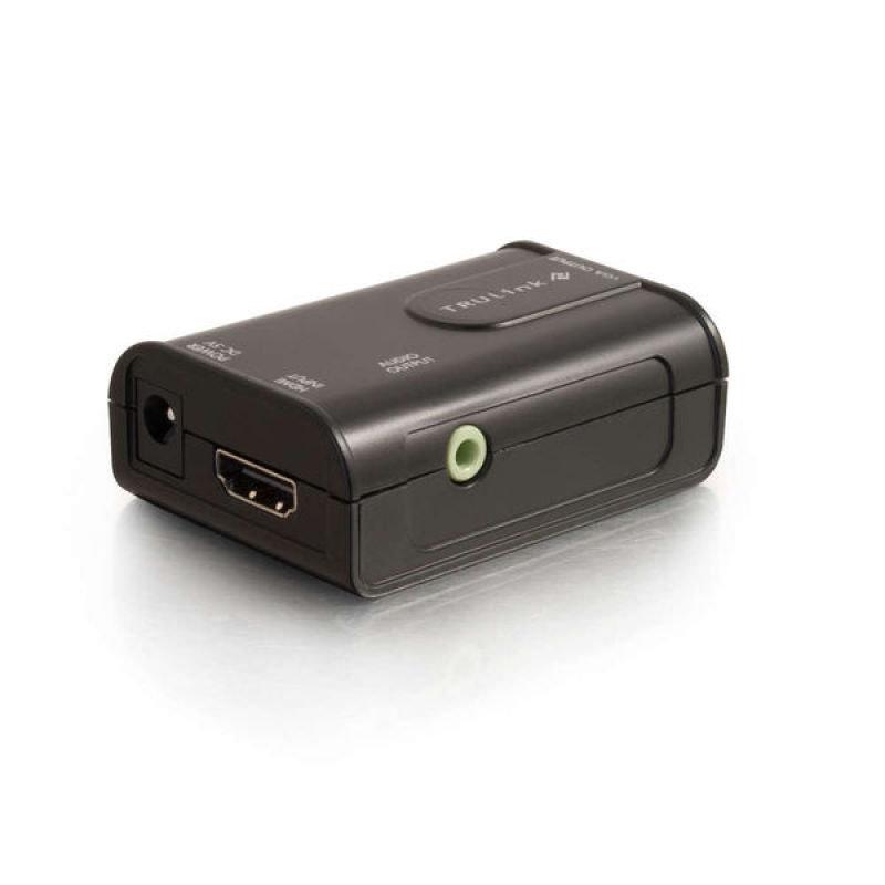C2G TruLink HDMI to VGA Adapter  Video converter  black