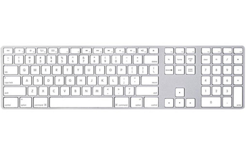 Image of Apple USA Keyboard with Numeric Keypad (USA Layout)