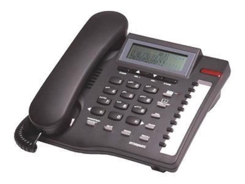 Interquartz Gemini CLI 9335 Corded phone w caller ID Black