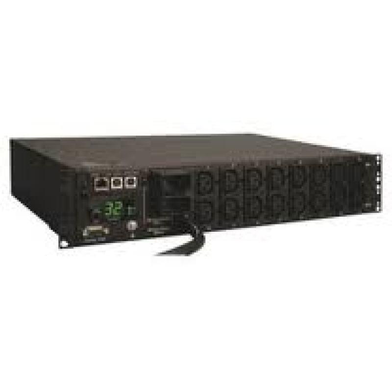 Tripplite 32 Amp Switched Power Distribution Unit (16) C13 & (2) C19 Ac Outlets
