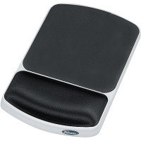 Fellowes Premium Gel Mouse Pad Wrist Support - Graphite