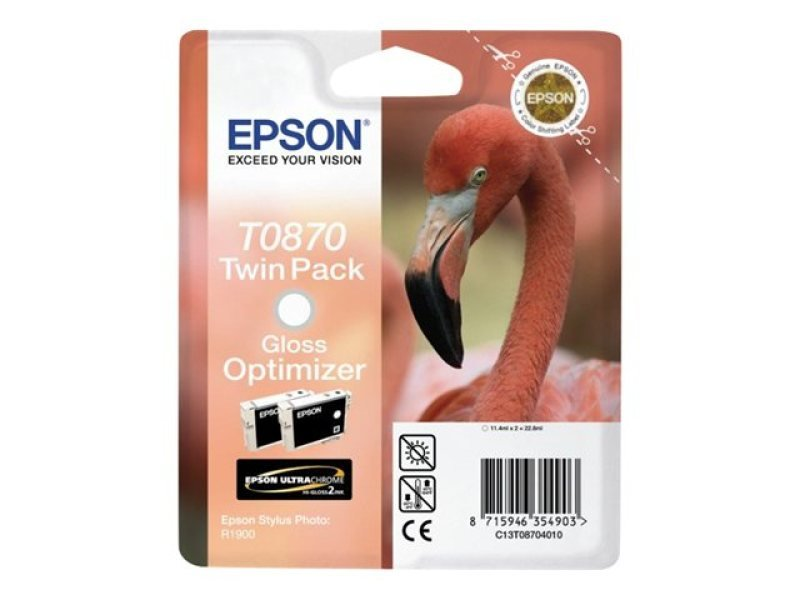 Epson T0870 11.4ml Ink Optimizer Cartridge