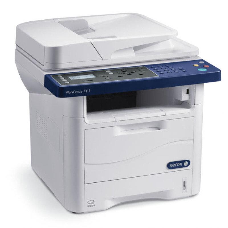 Image of Xerox WorkCentre 3325DNI All in One Mono Laser Printer