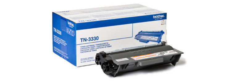 Brother TN3330 Black Toner Cartridge  3000 Pages