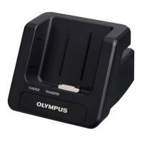 Olympus CR15 DS-7000 Digital Voice Recorder Docking Station
