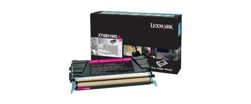 Lexmark X748 Magenta High Yield Toner Cartridge