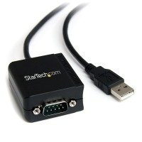 StarTech.com 1 Port FTDI USB to Serial RS232 Adapter Cable with COM Retention - USB to RS232 Serial Port Adapter