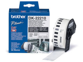 Brother DK22210 Continuous Paper Tape