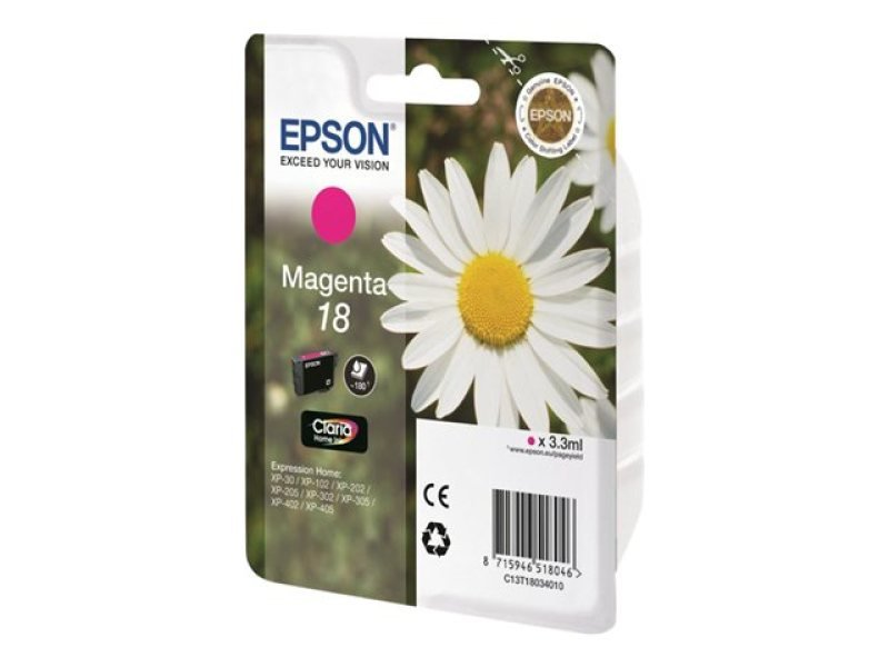 Epson 18 Daisy Magenta Ink Cartridge