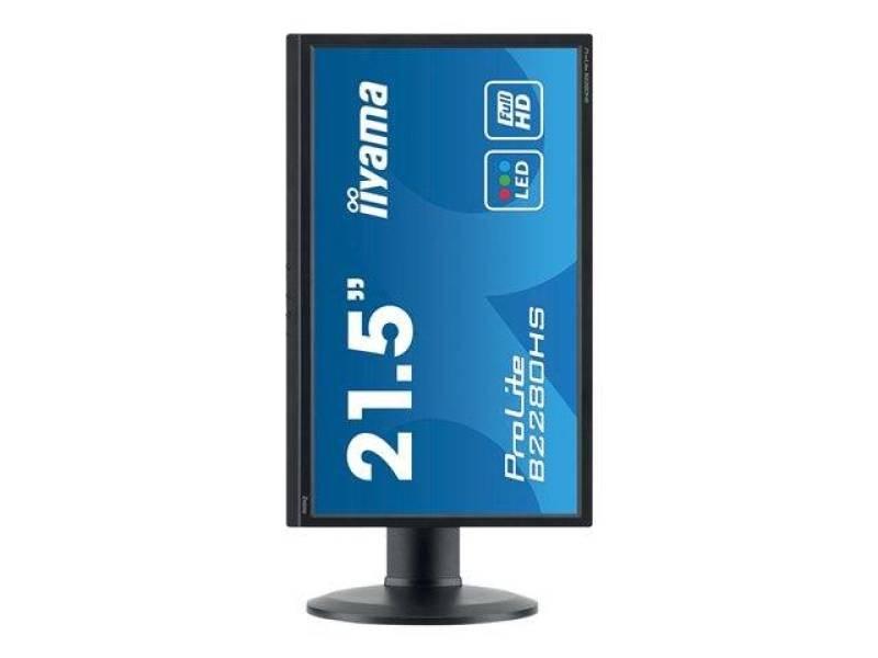 "Iiyama Prolite B2280hs LCD LED 21.5"" DVI Monitor"