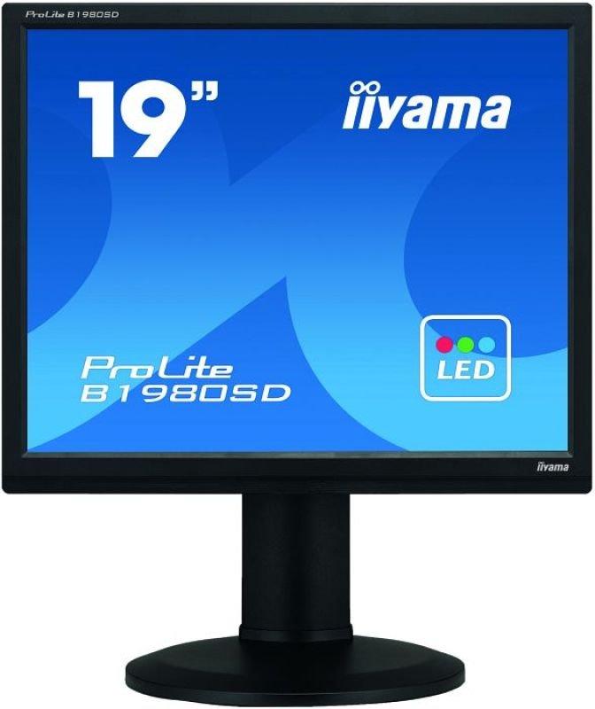 Iiyama ProLite B1980SDB1 19&quot LED LCD DVI Monitor