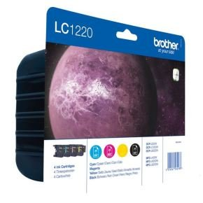 Brother LC1220 Colour Value Pack Ink Cartridges- Blister
