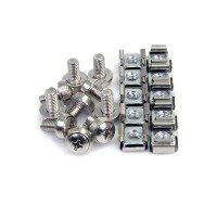 StarTech.com 100Pkg M6 Mounting Screws & Cage Nuts