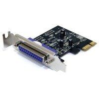 StarTech.com 1 Port PCI Express Low Profile Parallel Adapter Card - SPP/EPP/ECP