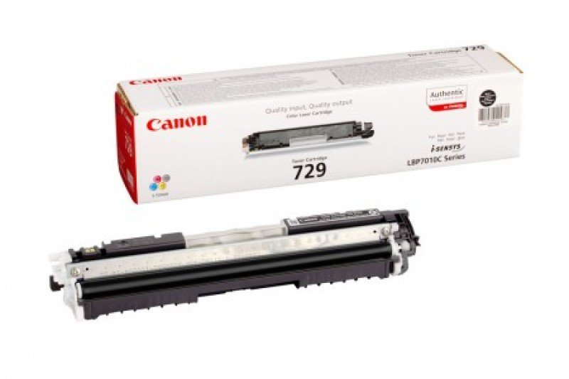 *Canon 729 Black Toner cartridge