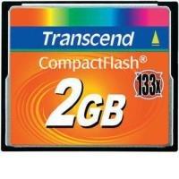 Transcend 2GB 133X CompactFlash Card