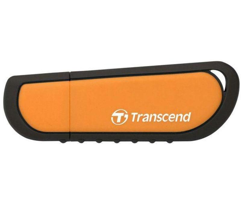 Transcend JetFlash V70 8GB Rugged USB Flash Drive (Orange)