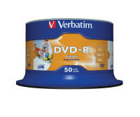 Verbatim DVD-R Wide Inkjet Printable - 50 Pack