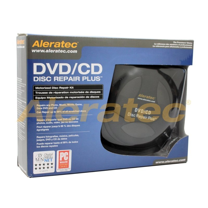 ALERATEC DVD CD Disc Repair Plus