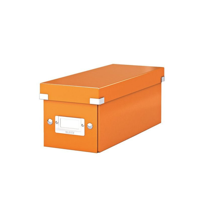 Leitz WOW Click & Store Media Storage Box - Orange