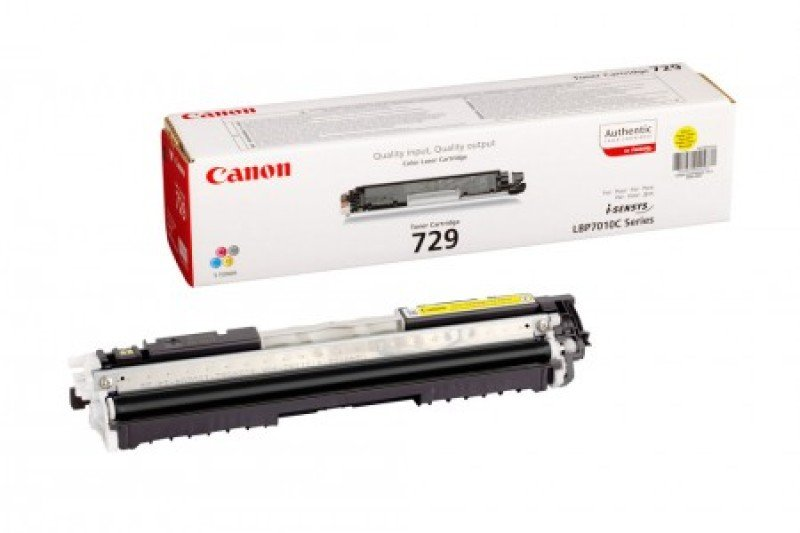 Canon 729Y Yellow Toner Cartridge