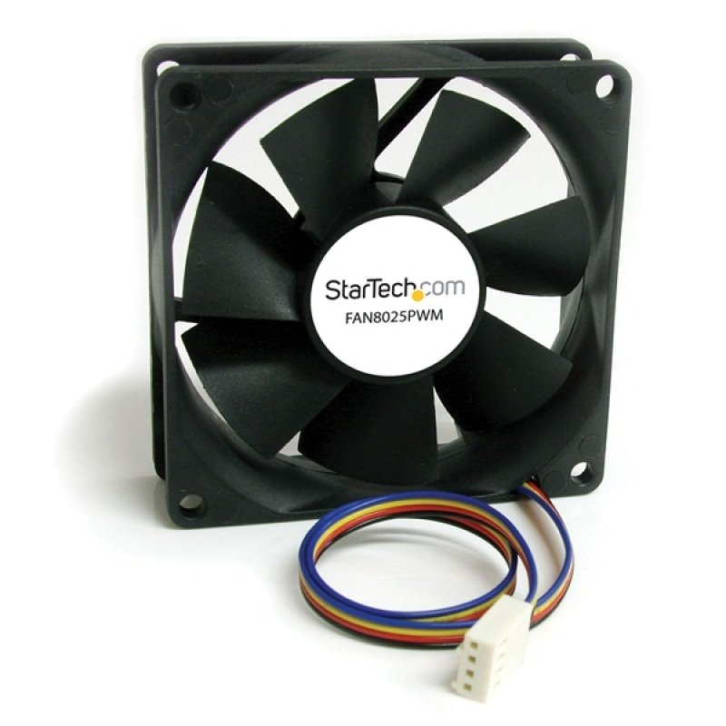 Image of 80x25mm Computer Case Fan With - Pwm Uk