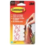 3M Command Adhesive Poster Strips - Pack of 12