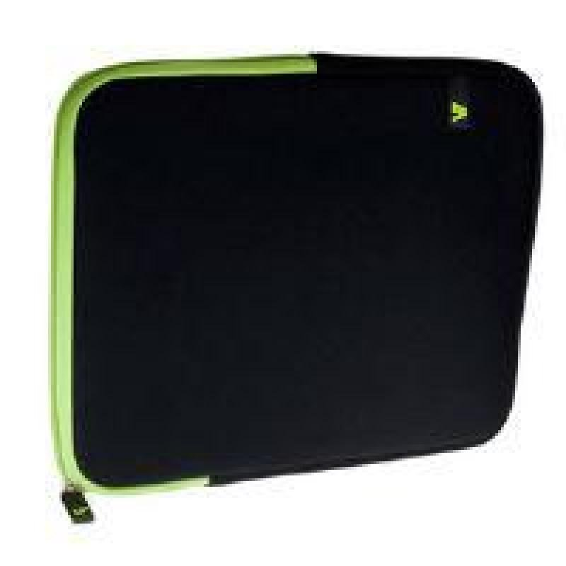 Image of V7 SLEEVE 10.1IN IPAD/2 TABLET - NEOPRENE 136G BLACK/GREEN