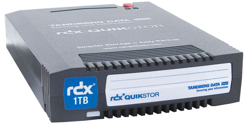 Tandberg 8586-RDX QuikStor RDX 1.0TB Backup Cartridge