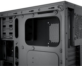 EXDISPLAY Corsair Carbide Series 200R Compact ATX Case Black w/ USB 3.0
