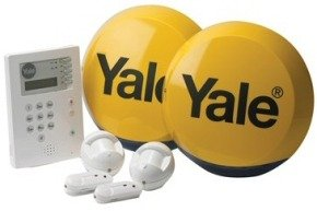 Yale HSA6400 Premium Wireless Telecommunicating 4 Room Alarm System
