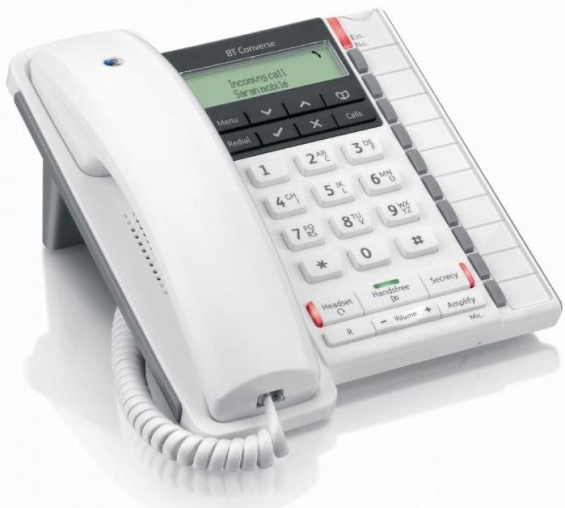 Bt Converse 2300 Corded Telephone, White