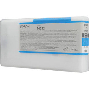 Epson T6532 Cyan UltraChrome K3 Ink Cartridge