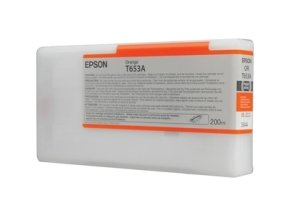 Epson T653A Orange Ink Cartridge