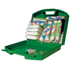 WALLACE GREEN BOX 20 PERSON FIRSTAID KIT