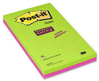 POSTIT SUPERSTICKY 124X200 ULTRA COLS P2