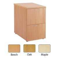 FF JEMINI 2 DRW FILING CABINET MAPLE