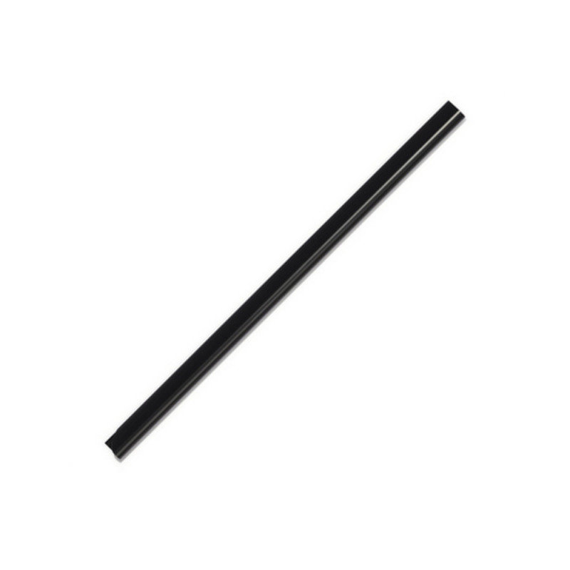 Durable Spinebar A4 6MM Black 100 Pack