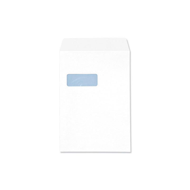 Q CONN ENV S/S C4 WDW 90G WHITE PK250