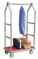 Luggage Trolley Chrome Finish