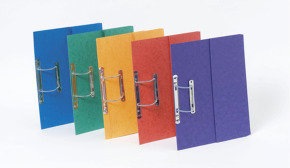 Europa Pocket Spiral File- Assorted Colours- Pack of 25