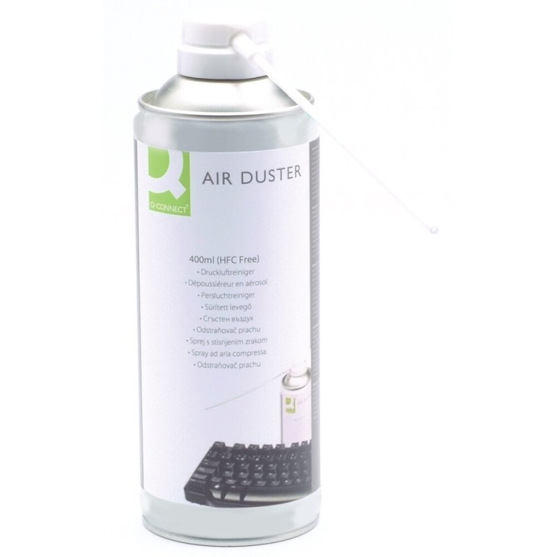 q connect hfc free air duster 400ml ebuyer. Black Bedroom Furniture Sets. Home Design Ideas