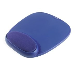 Kensington Blue Gel Mousepad with Integral Wrist Rest