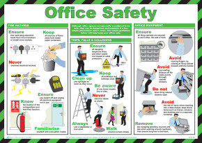 SIGNSLAB 420X590 OFFICE SAFETY FA603
