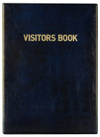 Durable Visitors Book - 300 Badge Inserts
