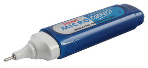 Pentel Micro Correct Fluid Zl31-w - 12 Pack
